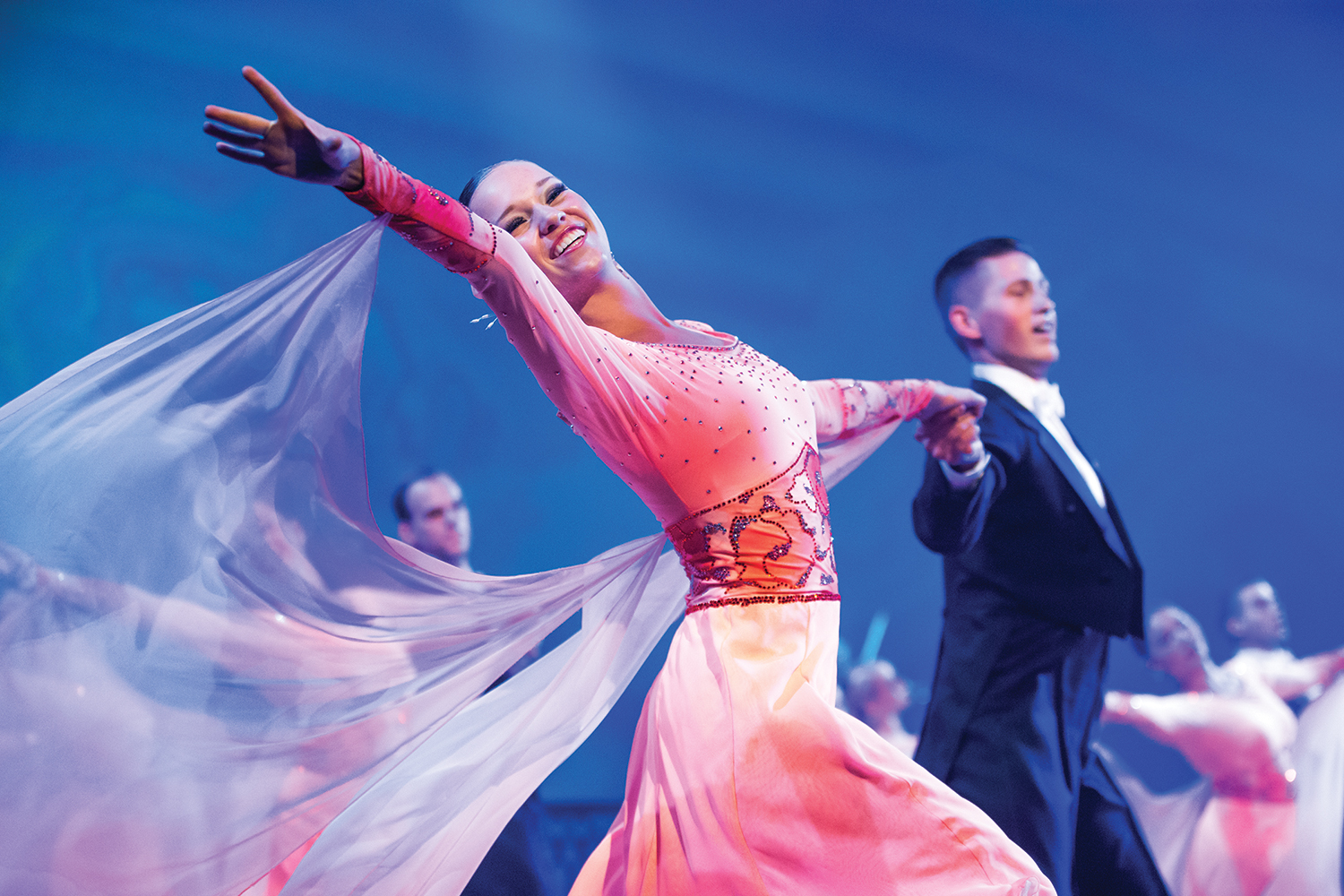 BYU Ballroom Dance Company will also perform.